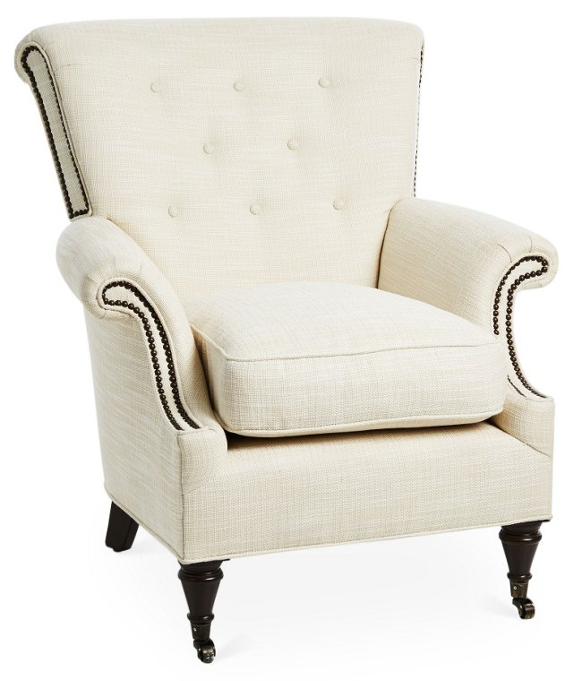 Lucia Chair, Cream