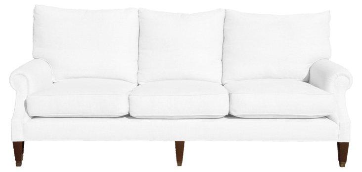 Bentley Linen Sofa, Oyster