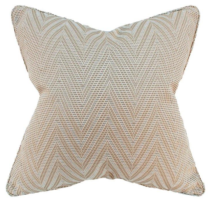 Woven 22x22 Pillow, Sand
