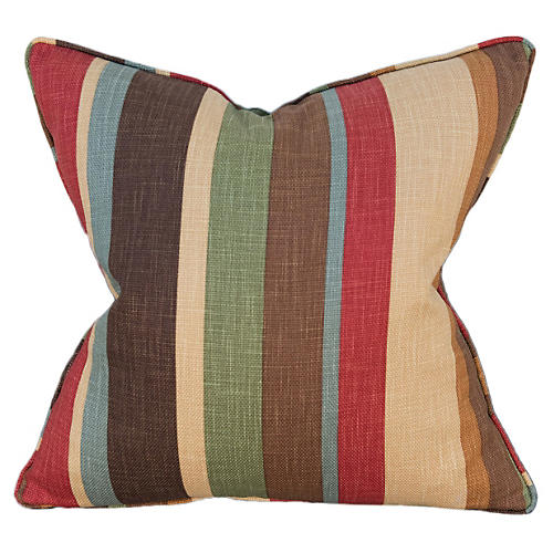 Promenade 22x22 Pillow, Multi