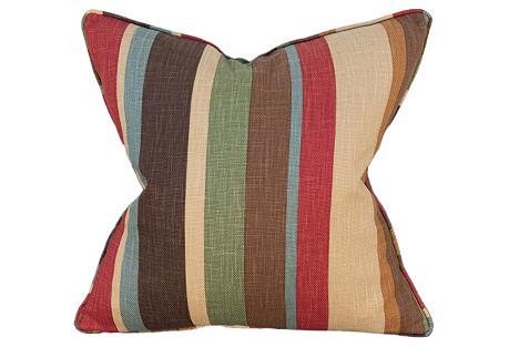Promenade 22x22 Pillow, Multi