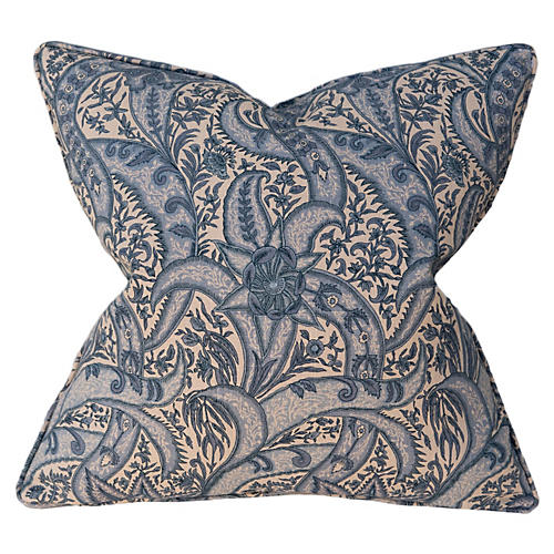 Evolution 22x22 Pillow, Blue