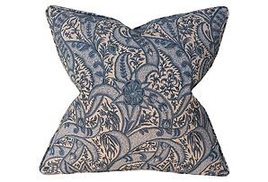 Evolution 22x22 Pillow, Blue*