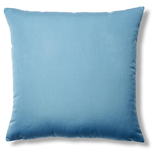 Canvas 22x22 Sunbrella Pillow, Sky