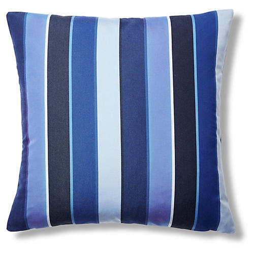 Milano 22x22 Outdoor Pillow, Cobalt