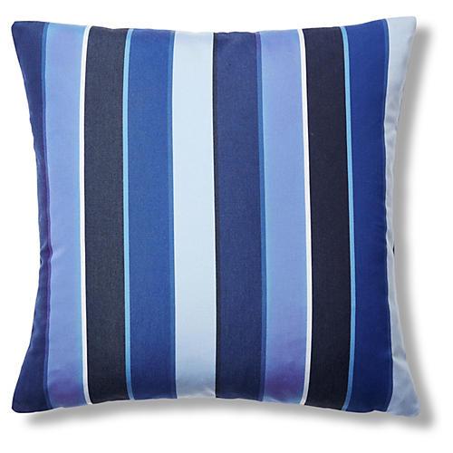 Milano 22x22 Outdoor Pillow, Cobalt