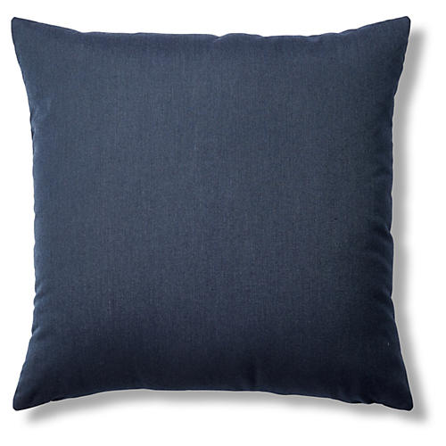 Spectrum 22x22 Sunbrella Pillow, Indigo