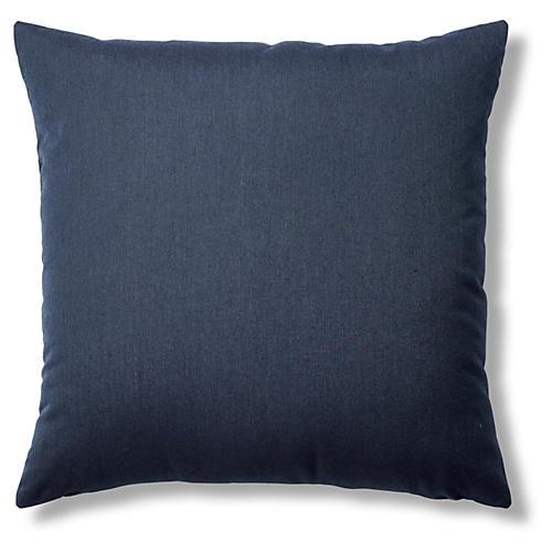 Spectrum 22x22 Sunbrella Pillow, Indigo