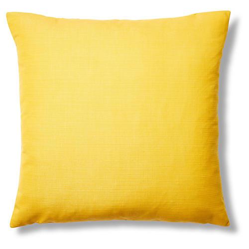 Echo 22x22 Sunbrella Pillow, Citron