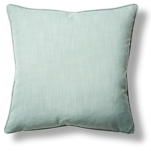 Gramercy 22x22 Throw Pillow, Light Blue