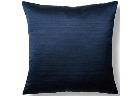 Moonstruck 22x22 Throw Pillow, Navy