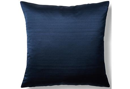 Moonstruck 22x22 Throw Pillow, Navy