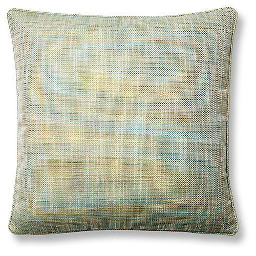 Otis 22x22 Pillow, Sea Glass