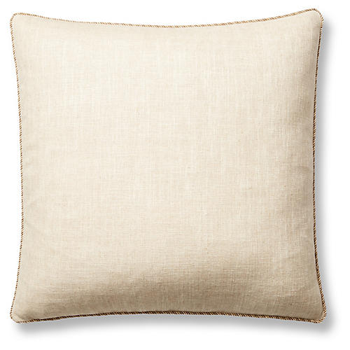 Brantley 22x22 Pillow, Ivory