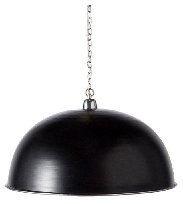 Large Weber Black Pendant