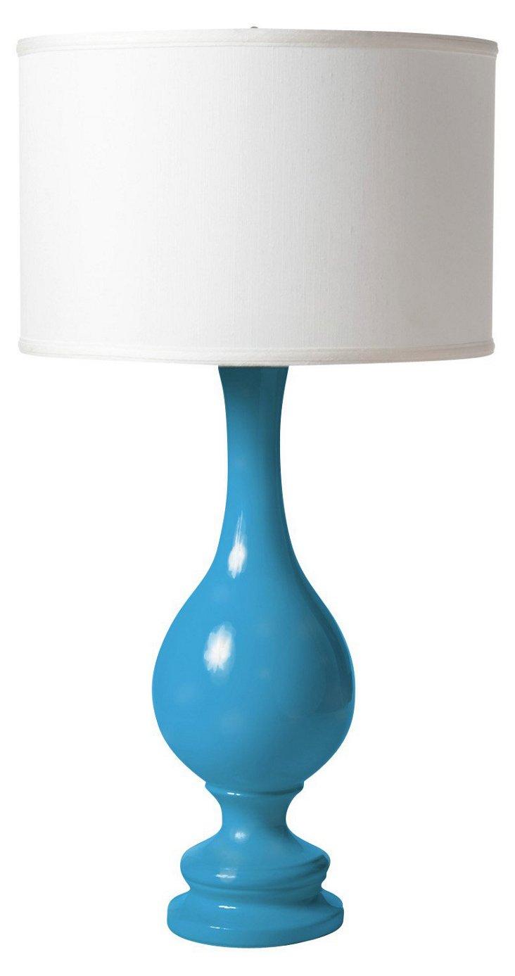 Ben Table Lamp, Blue