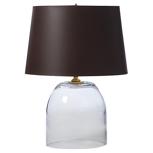 Glass Hudson Table Lamp, Clear