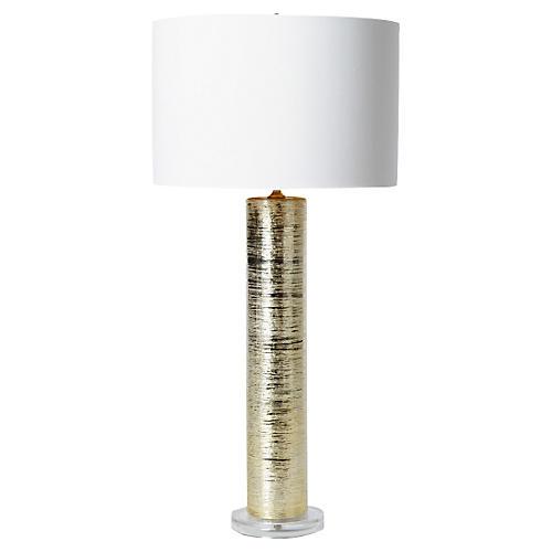 Spun Table Lamp, Gold