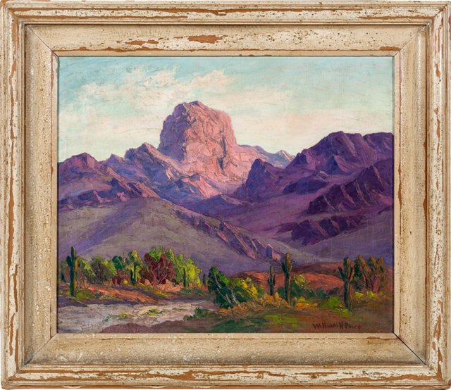William Henry Price Oil Painting