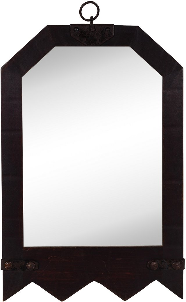 Early Monterey Old Wood Mirror