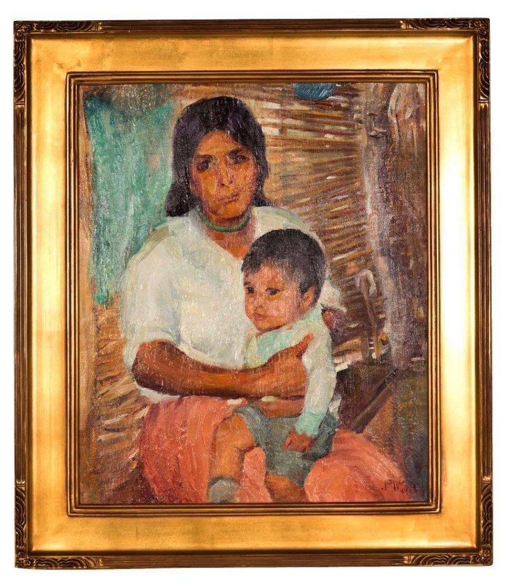 Jane Nordin Mother & Child