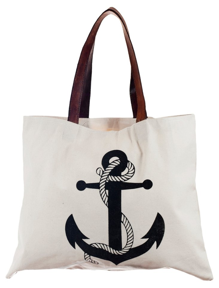 Canvas Anchor Bag, Ivory