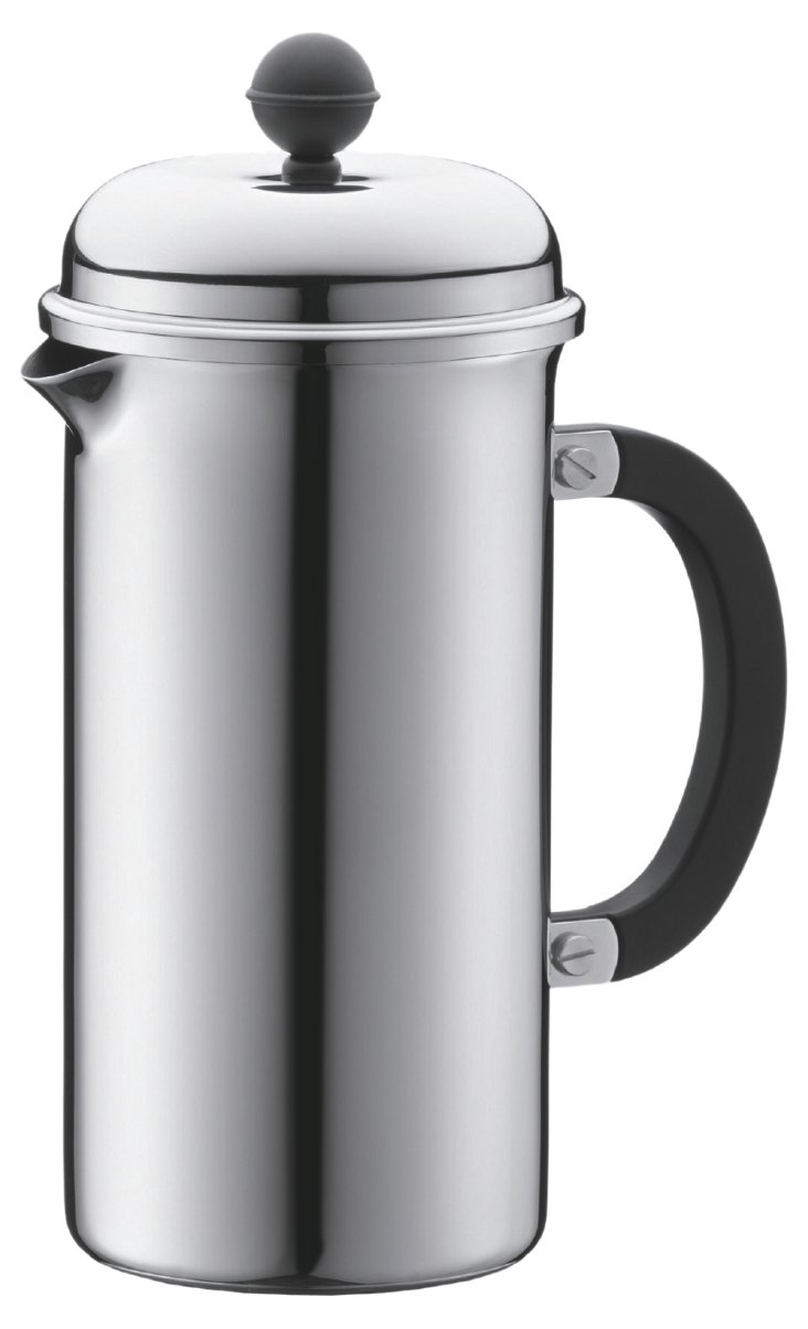 8-Cup Stainless Coffee Maker, 34 Oz