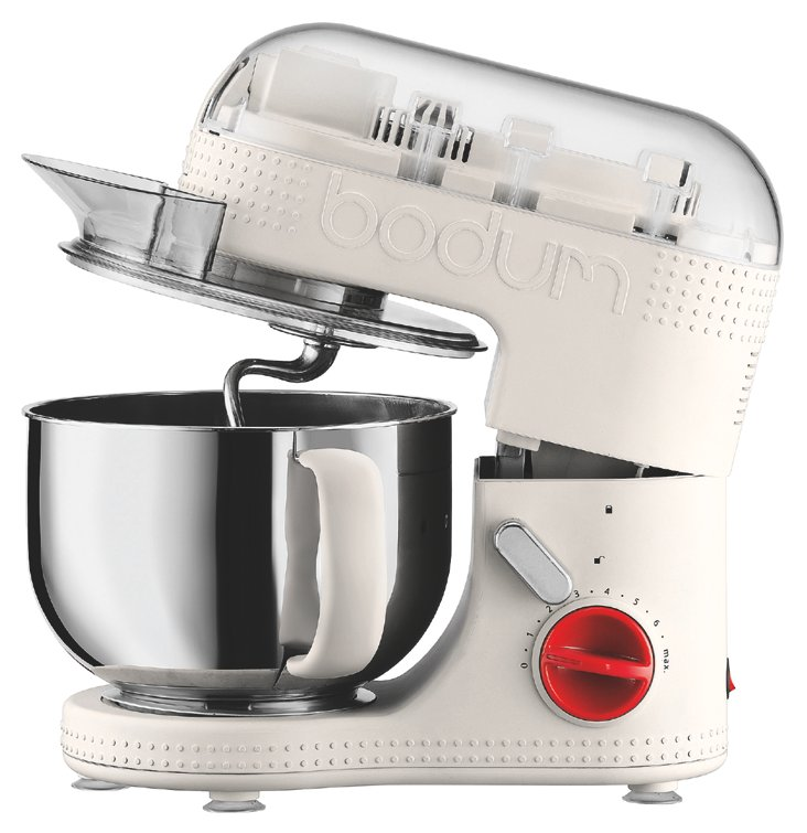 Electric Stand Mixer, White
