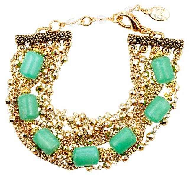 Green Chalcedony Harmony Bracelet