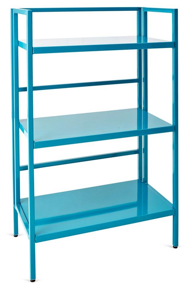Winston Bookshelf, Turquoise