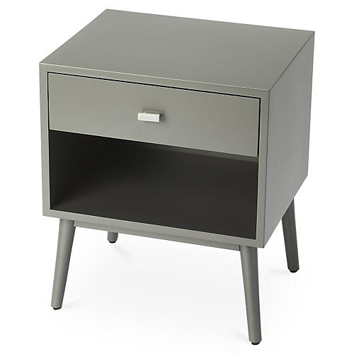 Jenni Nightstand, Gray