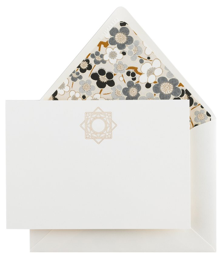 S/12 Medallion Note Cards
