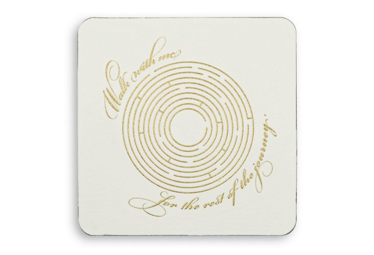 Walk with Me Coasters, S/20