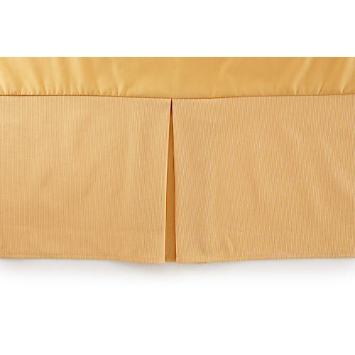 La Rochelle Bed Skirt, Gold