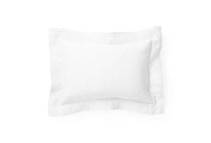 Enchantment Boudoir Pillow, White