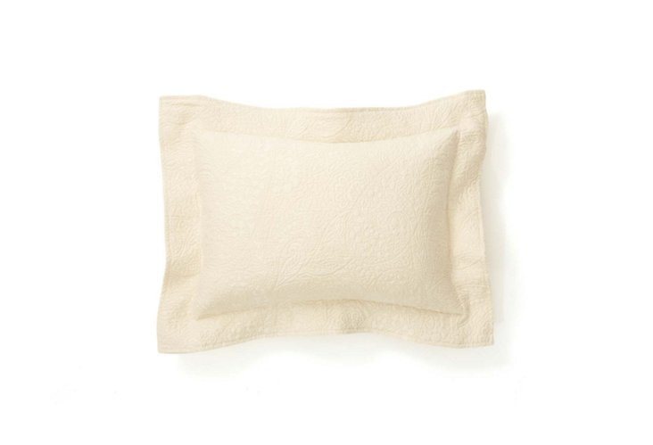 Enchantment Boudoir Pillow, Ecru