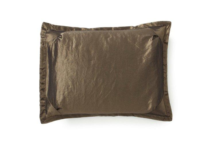 Eyelet Decorative Pillow, Wave
