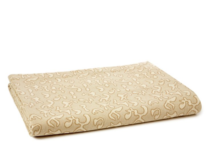 Eyelet  Bed Cover