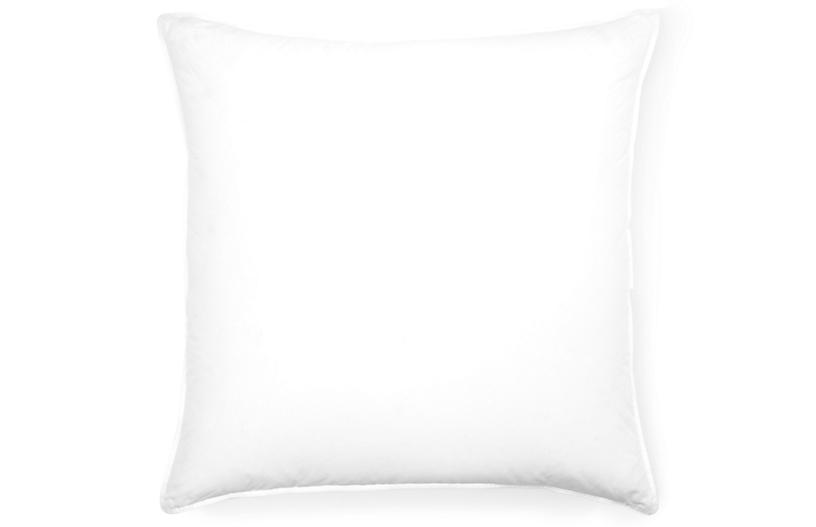 Firm European Down Euro Pillow