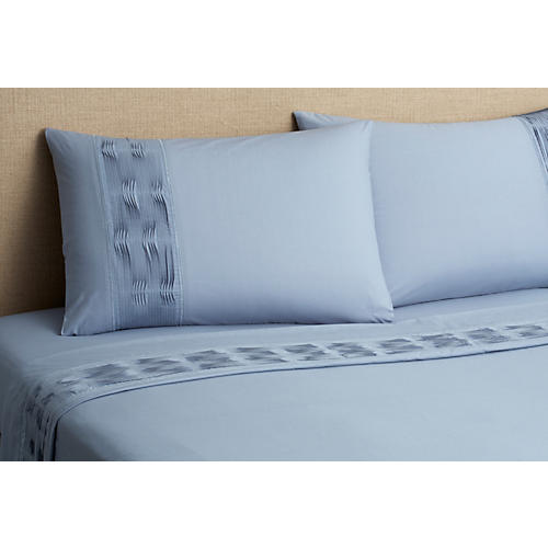 Christina Sheet Set, Blue