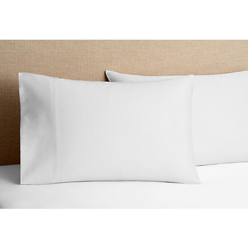 S/2 700 TC Pillowcases, White