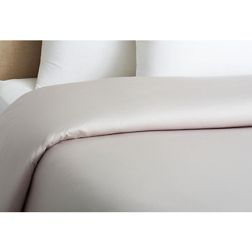 Cotton Duvet Cover, Dove