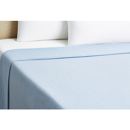 Serenity Coverlet, Blue