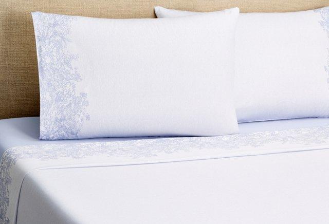 Serenity Sheet Set, Blue