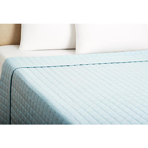 Sensation Coverlet, Azure