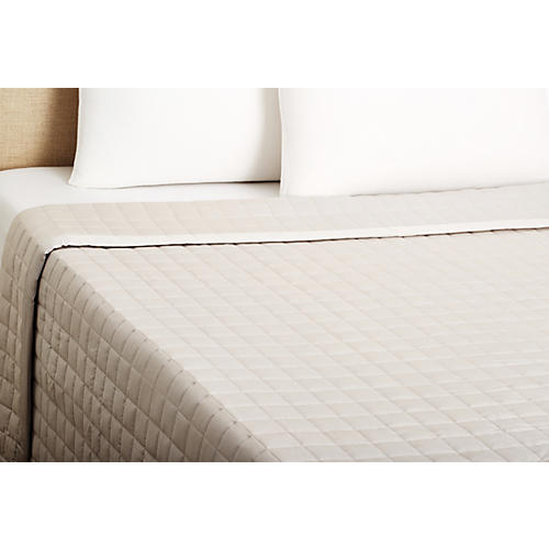 Sensation Coverlet, Dove