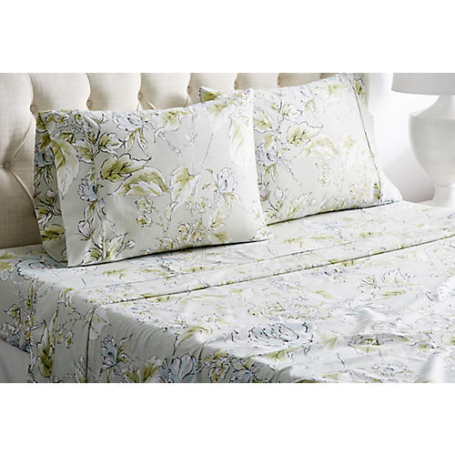 Marigold Sheet Set, Green