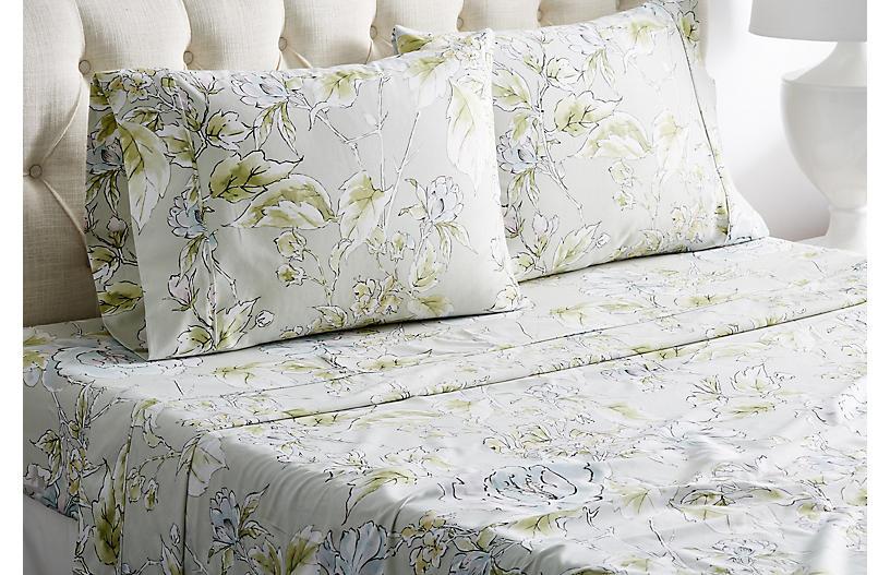Marigold Sheet Set, Green