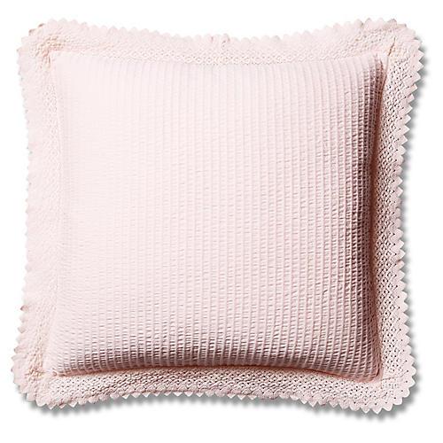 Shelly Romance Euro Sham, Pink