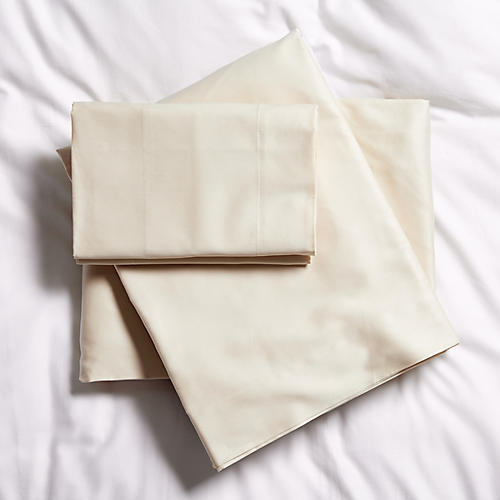 Solid Sheet Set, Taupe